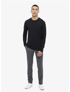 Newman Perfect Merino Crewneck Sweater Black