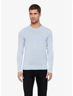 Newman Perfect Merino Crewneck Sweater Gentle blue