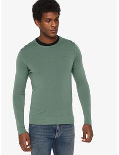 Newman Perfect Merino Crewneck Sweater Hedge Green