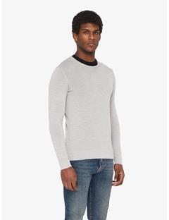 Newman Perfect Merino Crewneck Sweater Stone Grey