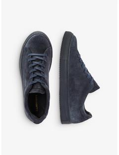Low-top Suede Sneakers JL Navy