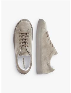Low-top Suede Sneakers Oxford Tan