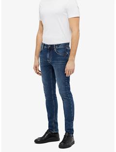 Damien Subtly Worn Jeans Mid Blue
