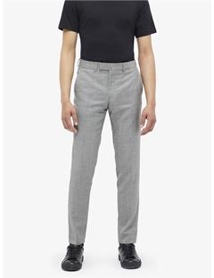 Mens Grant Fancy Wool Pants Black