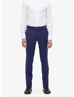Mens Paulie Comfort Wool Pants Mid Blue