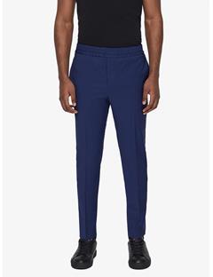 Sasha Comfort Wool Pants Mid Blue