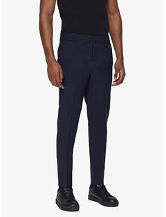 Mens Sasha Comfort Wool Pants Navy