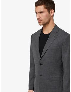 Mens Donnie Soft Legend Tech Blazer Stone Grey
