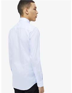 Daniel Non-Iron Oxford Shirt Lt Blue