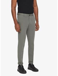 Grant Cotton Linen Pants Beetle