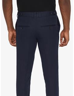 Grant Cotton Linen Pants JL Navy