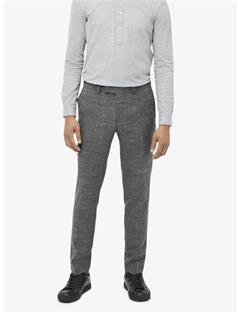 Grant Micro Pattern Pants Grey