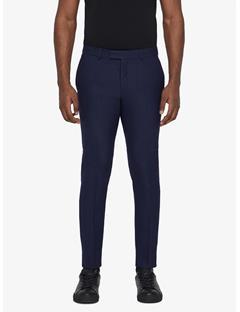 Grant Micro Pattern Pants Mid Blue