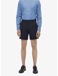 Nathan Cotton Linen Shorts JL Navy