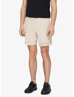 Nathan Cotton Linen Shorts Oxford Tan