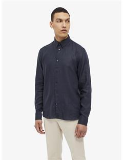 Daniel Linen Melange Shirt JL Navy