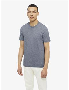 Silo Fine Twisted Yarn T-shirt Mid Blue