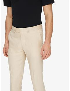Mens Grant Tech Linen Pants Oxford Tan