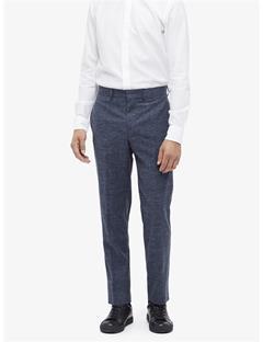 Vernon Flame Structured Pants Indigo Melange
