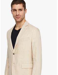Mens Hopper Soft Tech Linen Blazer Oxford Tan