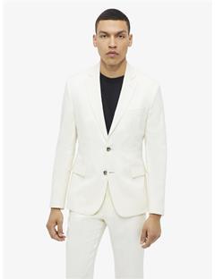 Hopper Soft Tech Linen Blazer Whisper White