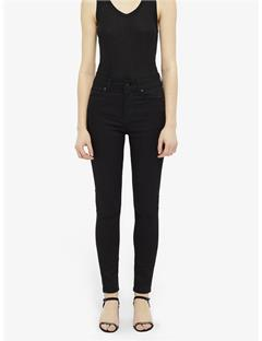 Womens Uma Black Jeans Black
