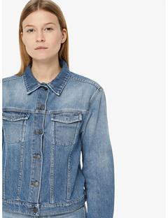 Bella Sharp Denim Jacket Light Blue