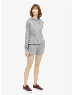 Womens Montana Spring Cashmere Shorts Lt Grey Mel