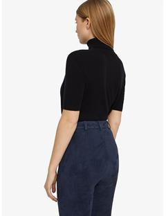 Carmel Stretch Suede Leggings JL Navy
