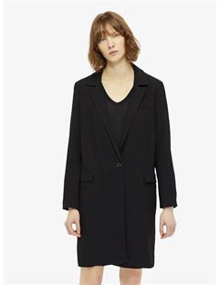 Womens Laya Spring Twill Coat Black