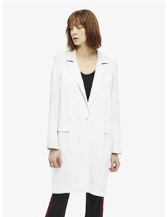 Womens Laya Spring Twill Coat Pale Grey