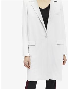 Laya Spring Twill Coat Pale Grey