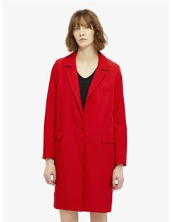 Laya Spring Twill Coat Racing Red
