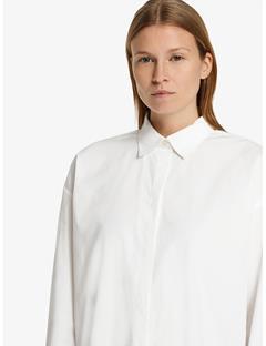Womens Nicole Comfy Poplin Shirt White