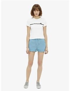 Dani Printed Supima Cotton T-shirt White