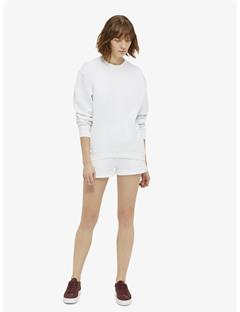Rubina Stitched Sweatshirt White