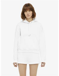 Womens Compton Stitched Hoodie White