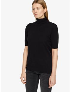 Dwight Spring Cashmere Turtleneck Sweater Black