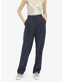 Avalon Spring Pinstripe Pants JL Navy