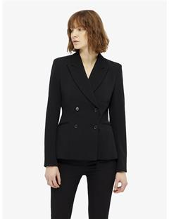 Cypress Twill Jersey Blazer Black