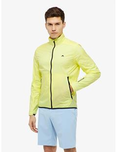 Mens Surge Stretch Wind Pro Jacket Still yellow