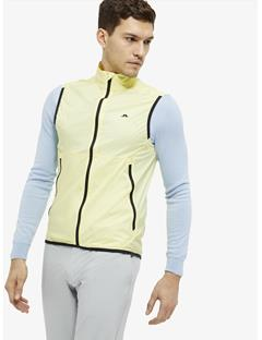 Mens Surge Stretch Wind Pro Vest Still yellow
