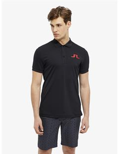 Mens Big Bridge TX Jersey Reg Fit Polo Black