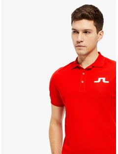 Big Bridge TX Jersey Reg Fit Polo Racing Red