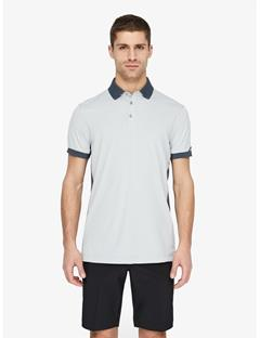Mens Dennis TX Jersey+ Reg Fit Polo Stone Grey
