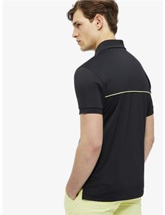 Mens Brighton TX Jersey Reg Fit Polo Black