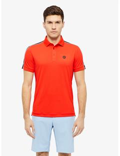 Mens Tane TX Torque Slim Fit Polo Racing Red