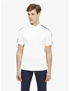 Mens Tane TX Torque Slim Fit Polo White
