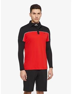 Mateo TX Jersey Reg Fit Polo Racing Red