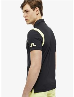 Dolph TX Jersey Slim Fit Polo Black